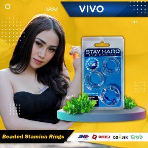 Vivo Stay Hard Original Silikon Beaded Cockring