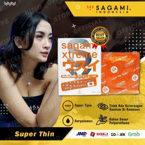 Kondom Sagami Xtreme Superthin - Isi 3 pcs